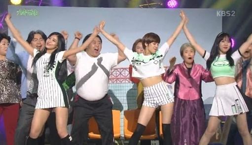 """Tzuyu, Jungyeon y Nayeon de TWICE hacen una aparición sorpresa en """"Gag Concert"""""""