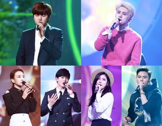 """Sandeul, Younha, Ken, Yook Sungjae, Hyosung y Cho PD se enfrentarán en """"Duet Song Festival"""""""