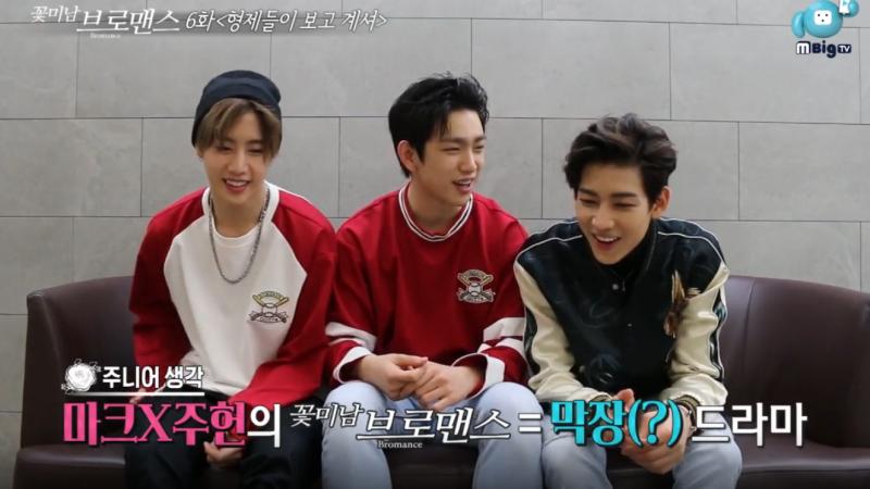 """BamBam, Junior y Mark de GOT7 eligen con quién les gustaría aparecer en """"Celebrity Bromance"""""""
