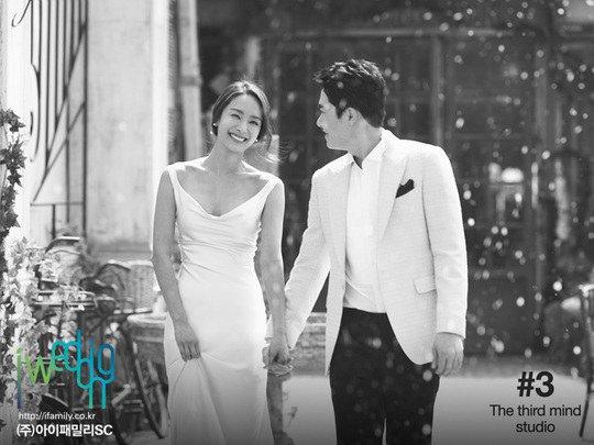 Se revelan las hermosas fotos de la boda de la ex-integrante de Jewelry Park Jung Ah