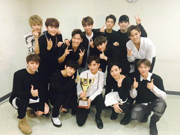 """SEVENTEEN consigue su segunda victoria con """"Pretty U"""" en """"Show Champion"""", actuaciones de Lovelyz, Crush y más"""