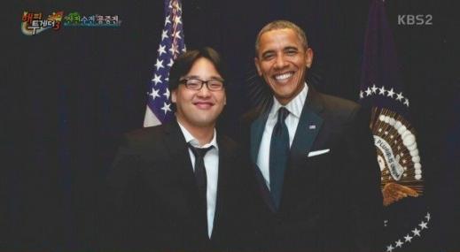 """Han Hee Jun habla acerca de """"American Idol"""" y hacer bromas con el presidente Obama"""