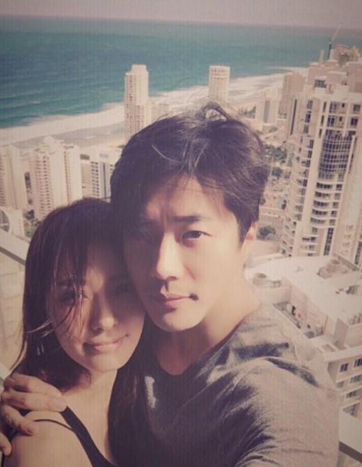 Kwon Sang Woo y su esposa Son Tae Young celebran el día de los esposos