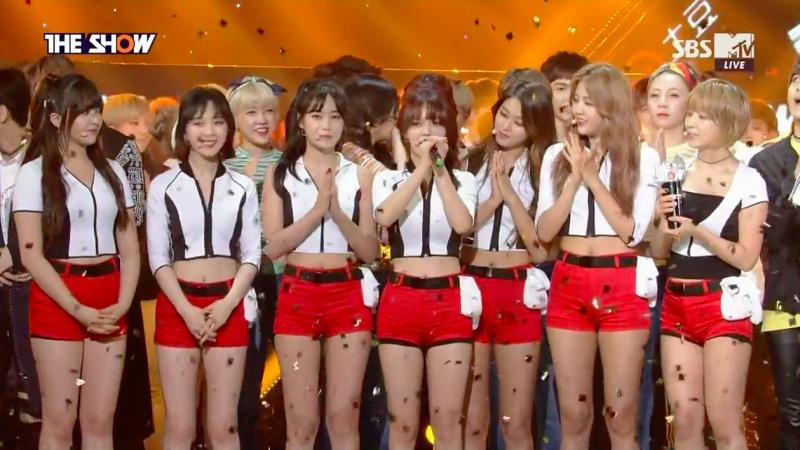 """AOA se lleva su 1era victoria con """"Good Luck"""" en """"The Show"""", presentaciones de SEVENTEEN, UP10TION y más"""