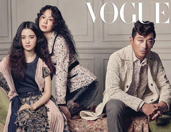 Kim Min Hee, Ha Jung Woo y Kim Tae Ri son cautivadores en nueva sesión para Vogue
