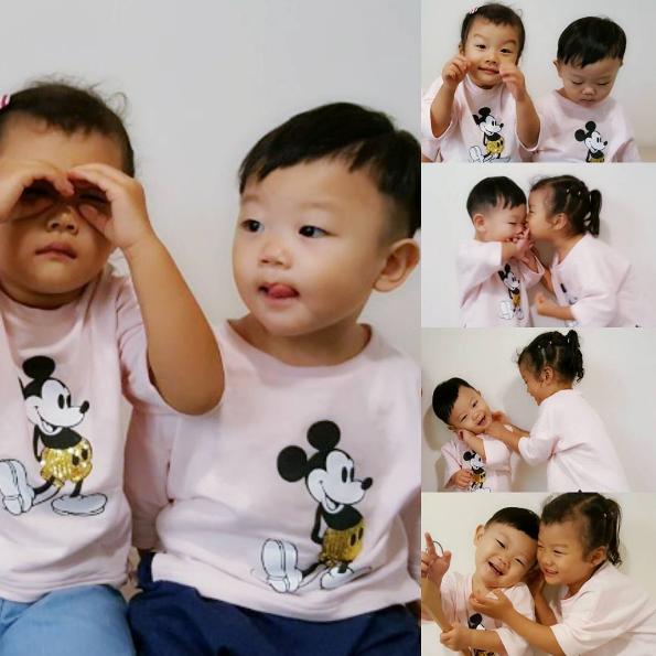 Daebak y su hermana mayor Soo Ah muestran su amor mutuo en dulces fotos