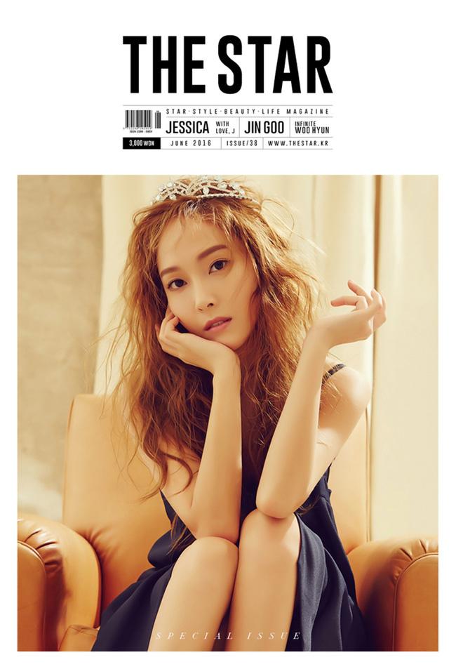 Jessica es un sueño de verano para la revista The Star