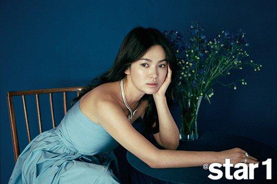 """Song Hye Kyo habla sobre su vida como una celebridad a la revista """"Star1"""""""