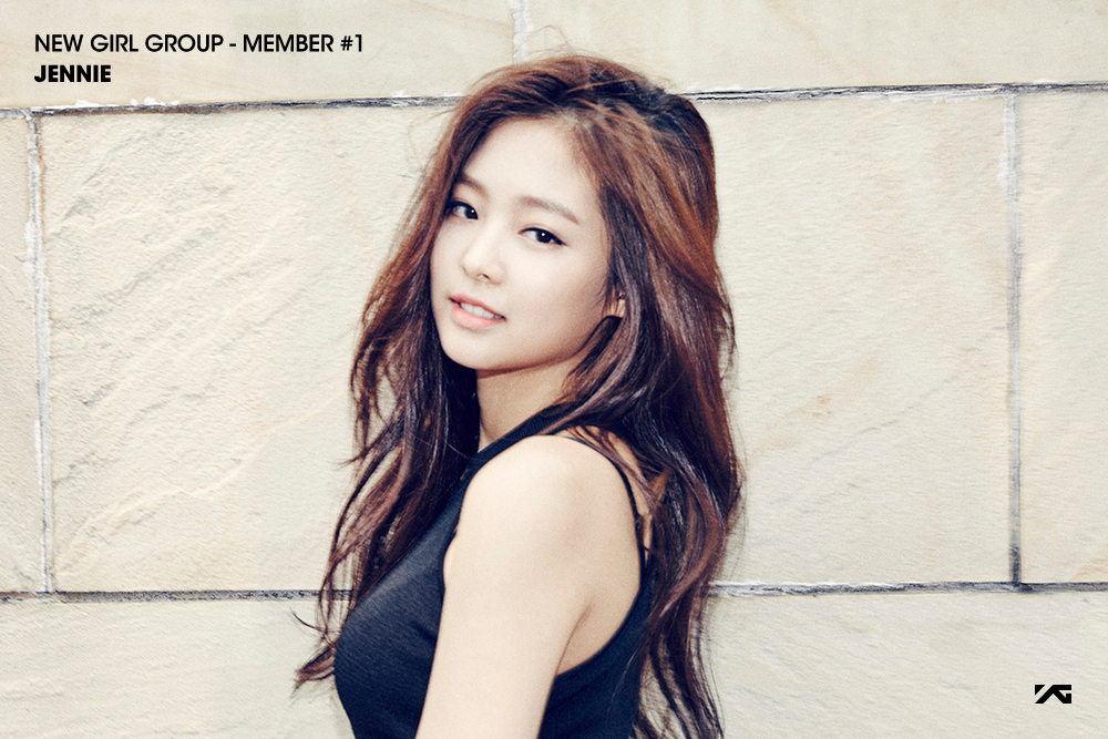 YG revela teasers de su nuevo grupo femenino y presenta oficialmente a la integrante Jennie Kim