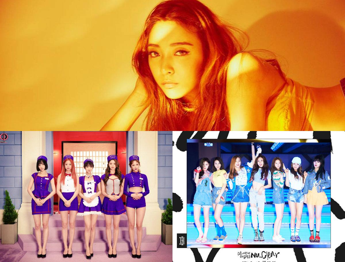 """""""Music Core"""" del 4 de junio: Actuaciones de EXID, Luna de f(x), CLC y más"""