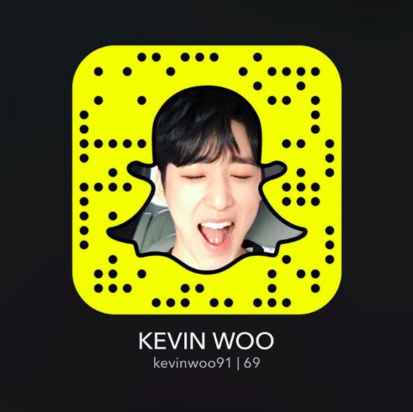 ¡Kevin Woo de U-KISS se une a Snapchat!