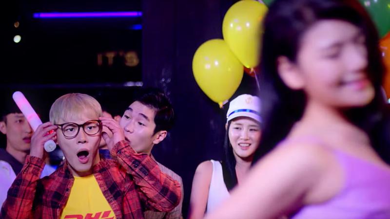 """Wheesung revela video-teaser de """"Hold Over"""" y presenta a LE de EXID"""