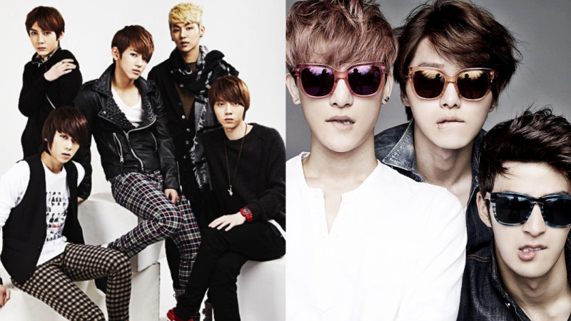 6 talentosos grupos masculinos que se esconden en el mundo K-Pop