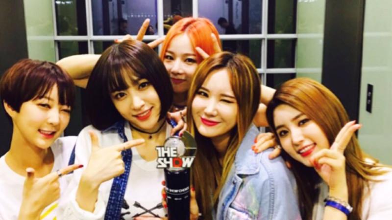 """EXID consigue su tercera victoria con """"L.I.E"""" en """"The Show"""", actuaciones de Baek A Yeon, U-KISS, Luna y más"""