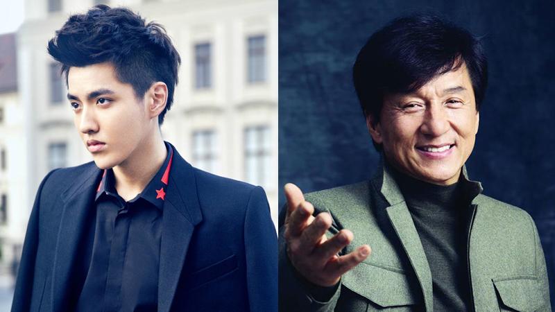 Kris firma bajo la agencia de entretenimiento de Jackie Chan