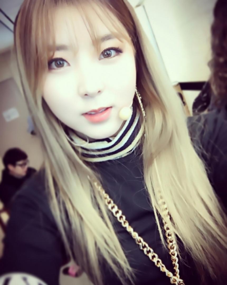 Kwon Sohyun escribe una carta a mano para los fans de 4Minute