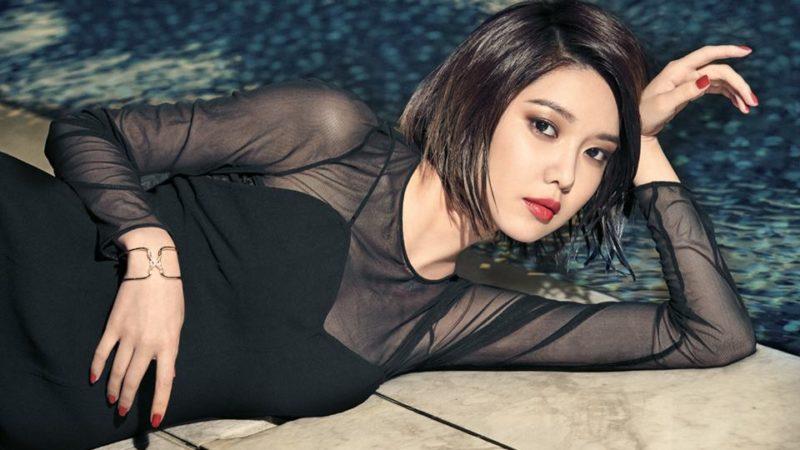 Sooyoung de Girls' Generation es una chica fatal para la revista Allure
