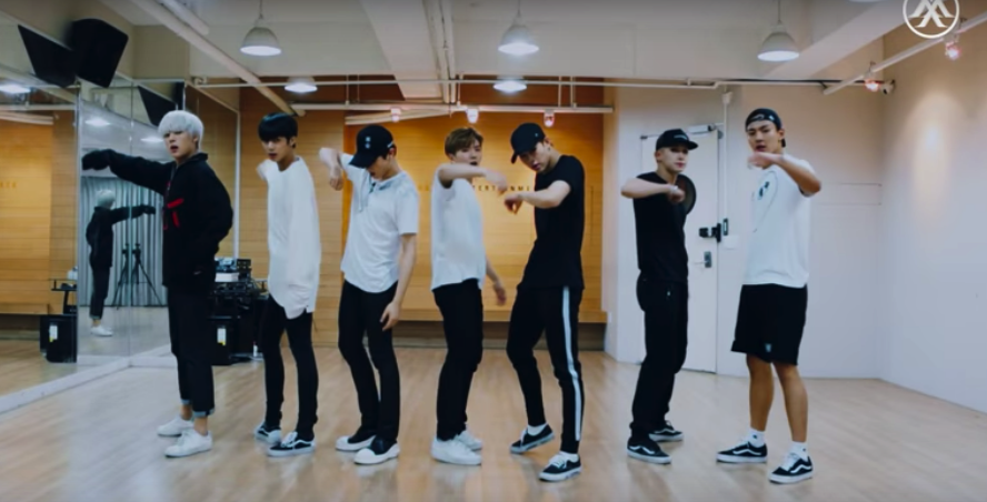 "MONSTA X revela video de práctica de ""ALL IN"""