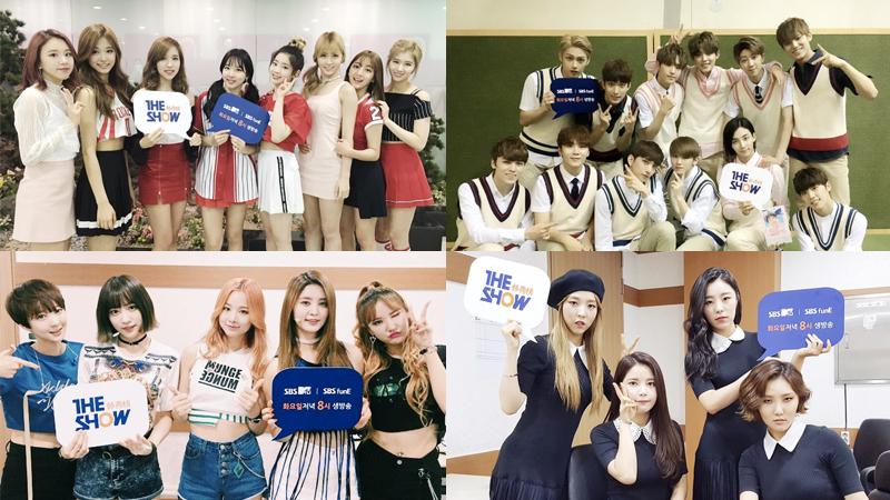 """Presentaciones de TWICE, MAMAMOO, SEVENTEEN, EXID, entre otros para el Suwon K-Pop Super Concert en """"The Show"""""""