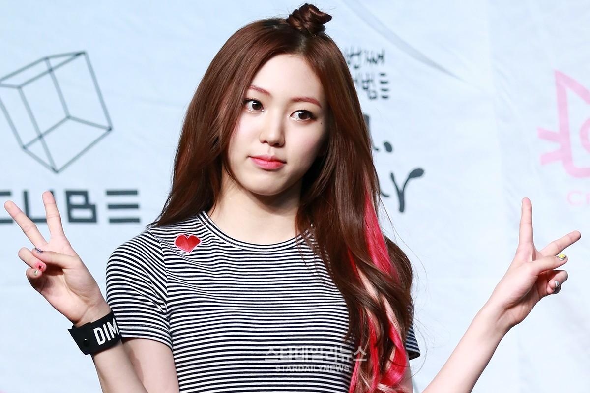 Eunbin de CLC se ha recuperado y vuelve a las actividades promocionales con el grupo