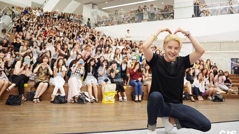 XIA (Junsu) de JYJ expresa su gratitud hacia los fans