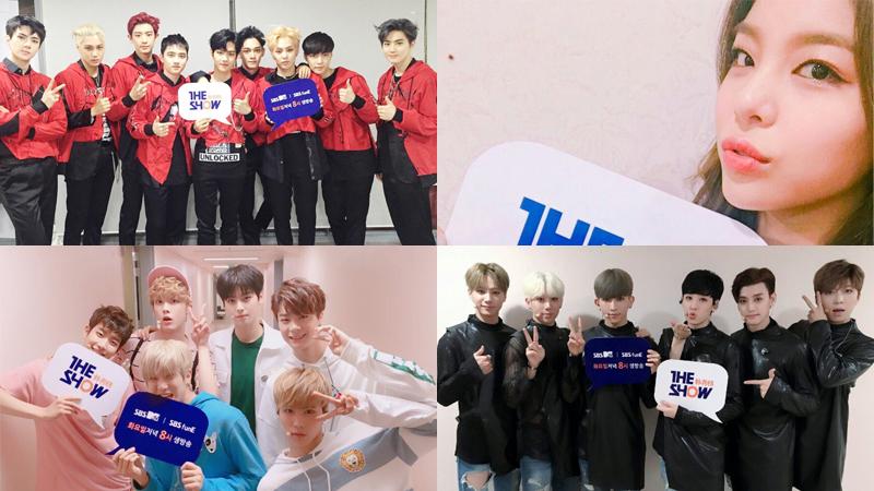 "EXO, TWICE, Ailee, U-KISS y más, actúan en el Suwon K-Pop Super Concert en ""The Show"""