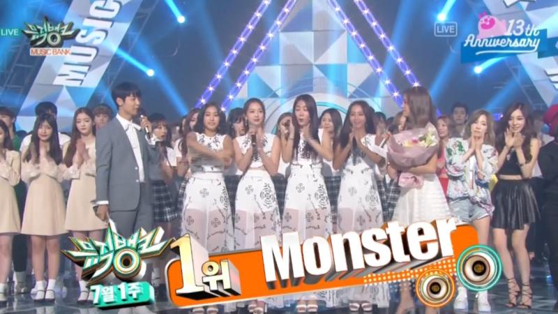 """EXO consigue su novena victoria con """"Monster"""" en """"Music Bank"""", debut del grupo Unnies de """"Sister's Slam Dunk"""", actuaciones de Taeyeon, SISTAR, EXID y más"""