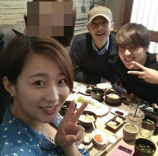 El comediante Ryu Geun Ji comparte imagen de una reunión que tuvo con Song Joong Ki