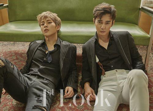 Yoo Seung Ho y Xiumin te conquistarán en el reportaje fotográfico para 1st Look