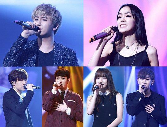 """Sunggyu, Yuju, y Kim Yoona, entre otros, actúan en """"Duet Song Festival"""""""