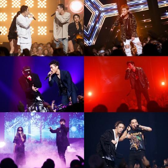 """Los Top 6 de """"Show Me The Money 5"""" llevan a cabo impresionantes colaboraciones con Jay Park, Bobby, Zico y más"""