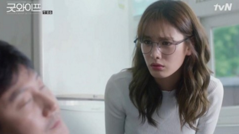 "Nana impresiona a los espectadores con su actuación en ""The Good Wife"" de tvN"