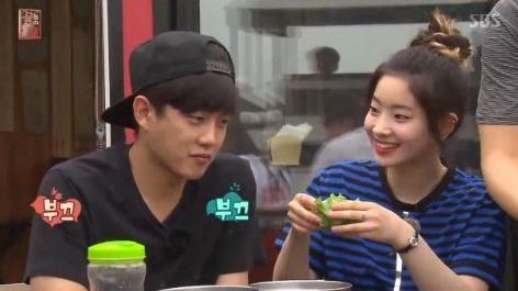 "Dahyun de TWICE acelera el corazón de Kim Min Suk en ""Flower Crew"""