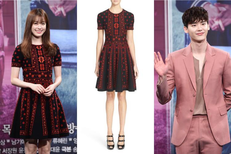 """Acierto o error: Han Hyo Joo y Lee Jong Suk en la conferencia de prensa de """"W"""""""