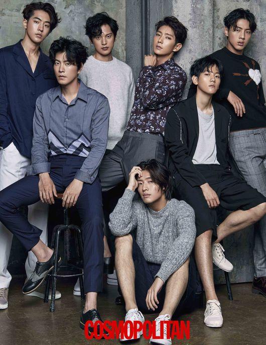 """El elenco de """"Scarlet Heart: Goryeo"""" en nuevas fotos de la revista Cosmopolitan"""