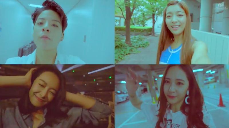 "f(x) lanza el video musical de ""All Mine"" para SM STATION"