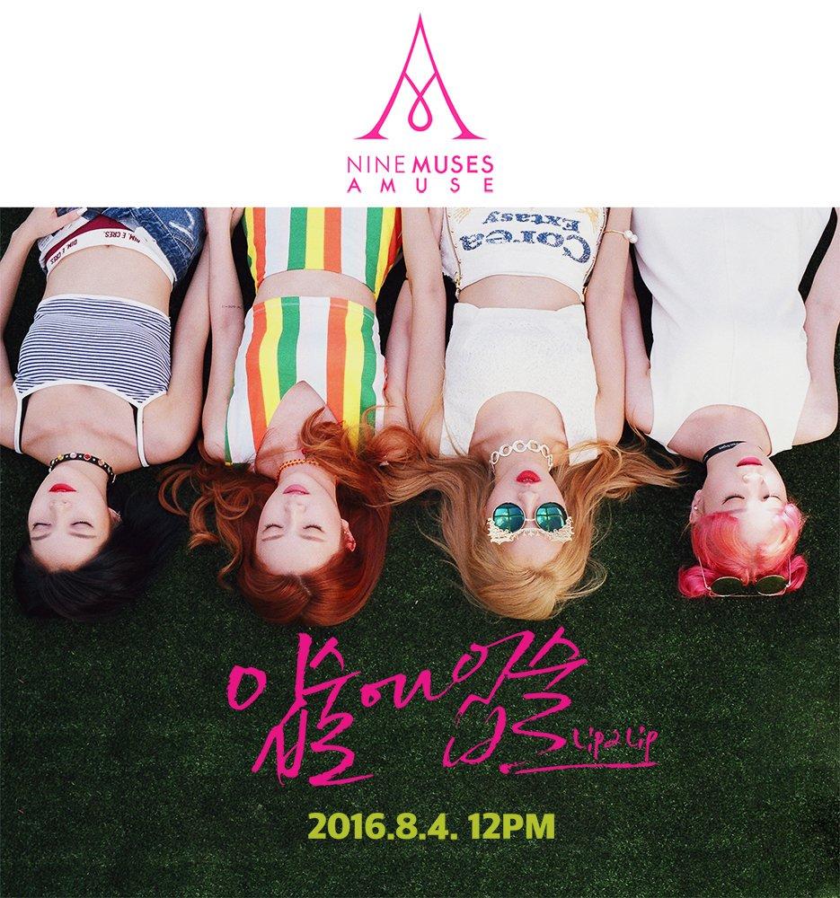 """[Actualizado] 9MUSES A comparte detrás de cámaras del MV debut de su sub unidad para """"Lip 2 Lip"""""""