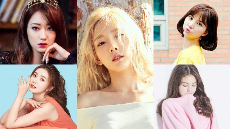 Integrantes de grupos femeninos en una lista de reputación de marca para el mes de julio