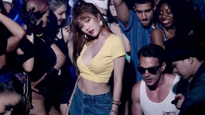 """HyunA arrasa en las listas musicales chinas con """"How's This"""""""