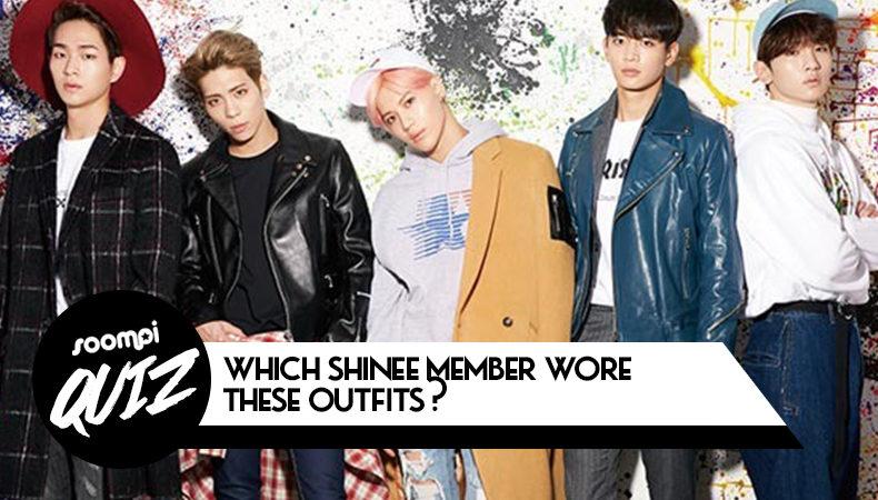 Prueba: ¿Qué miembro de SHINee vistió estos trajes?