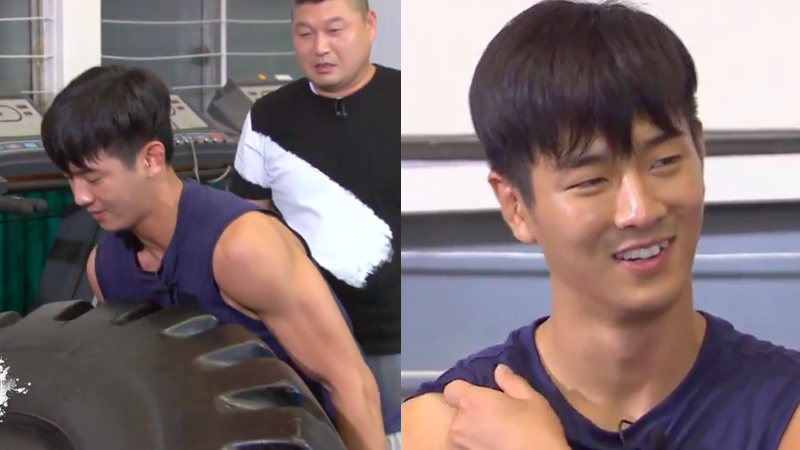 "Jota de MADTOWN sorprende a elenco de ""Cool Kiz On The Block"" con su fuerza"
