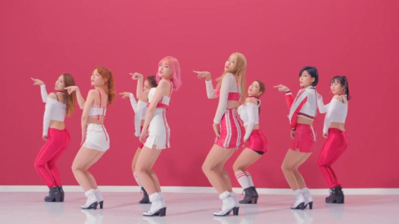 """9MUSES A hace su debut como sub unidad con el MV de """"Lip 2 Lip"""""""