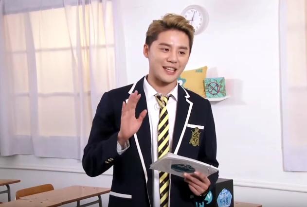 XIA Junsu revela cómo era de popular en el instituto