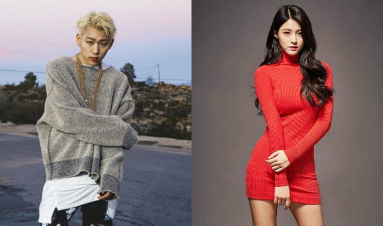 "AOA (Ace Of Angels) >> Mini-álbum ""Wanna Be"" - Página 13 Zico-and-seolhyun"