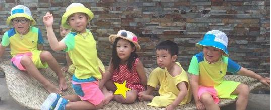 Los trillizos Song, Ji On, y los gemelos tienen una linda reunión veraniega