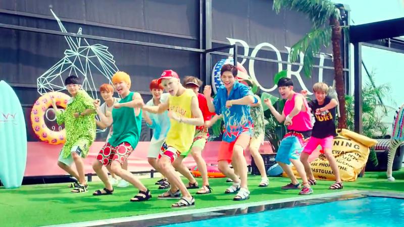 """UP10TION obsequia a sus fans con una divertida versión dance de su MV """"Tonight"""""""
