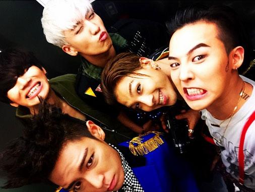 Los miembros de BIGBANG celebran el cumpleaños de G-Dragon en su chat de grupo