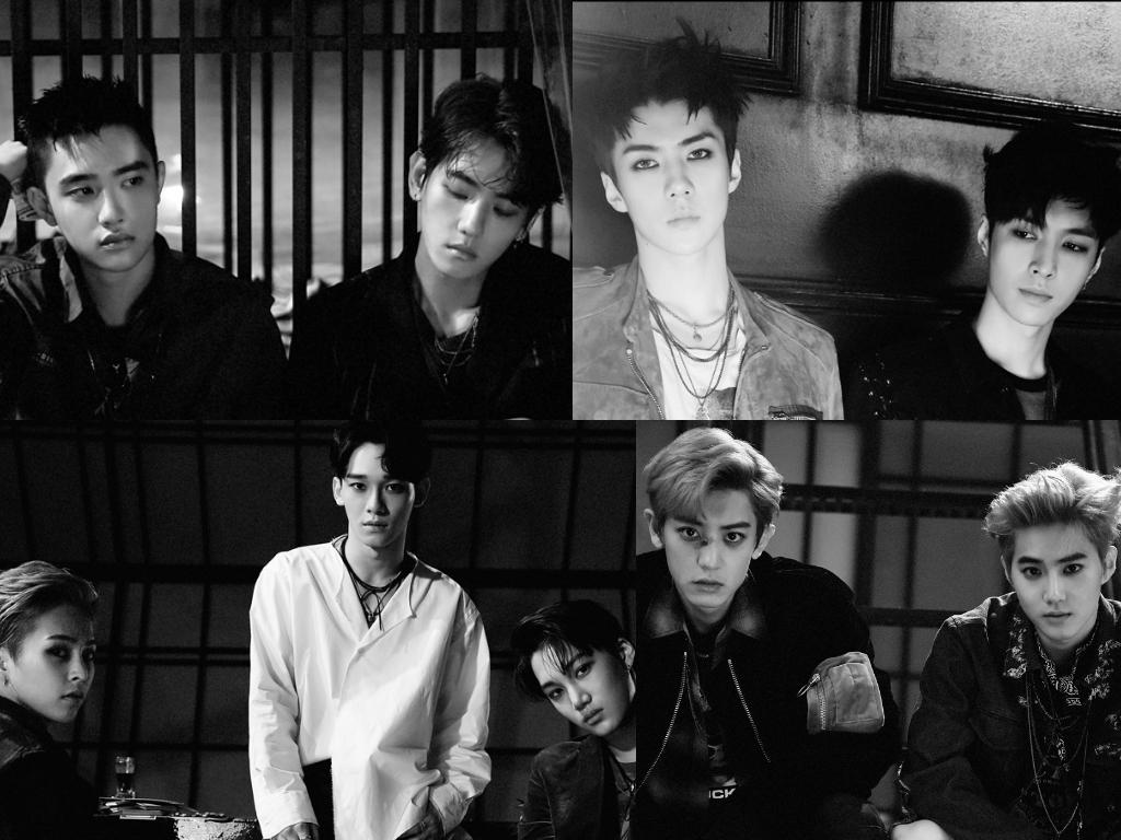 """EXO continúa su supremacía en las listas con """"Lotto"""" después de una hora de su lanzamiento"""