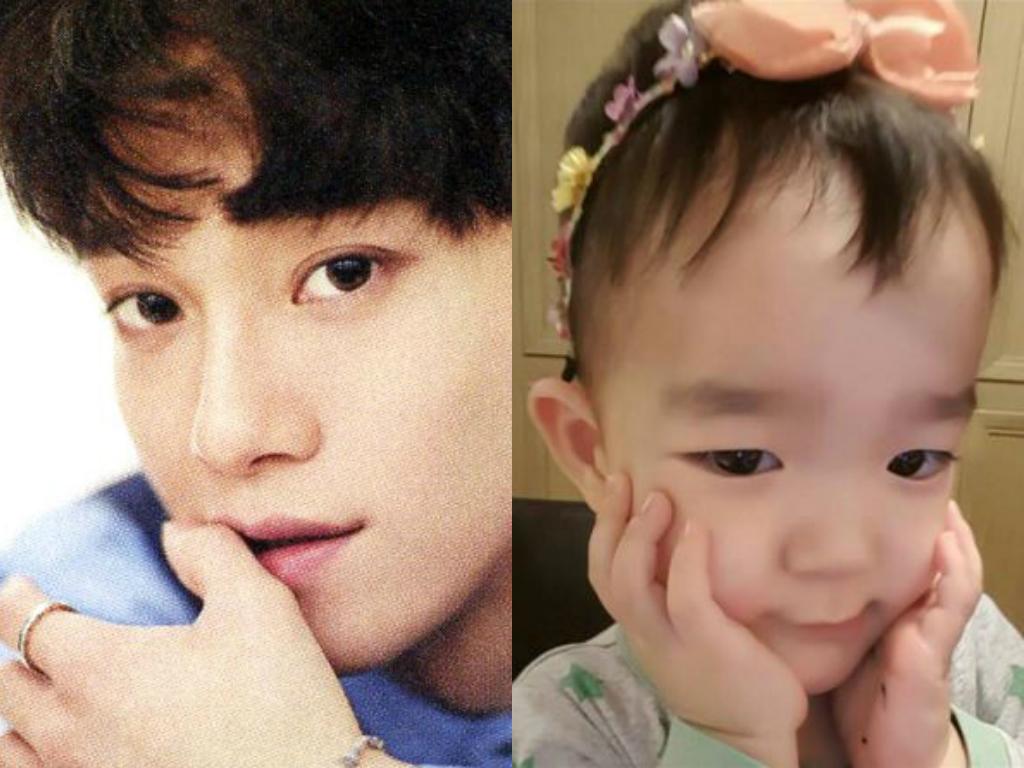 Chen de EXO finalmente conoce a su adorable doble Da Eul