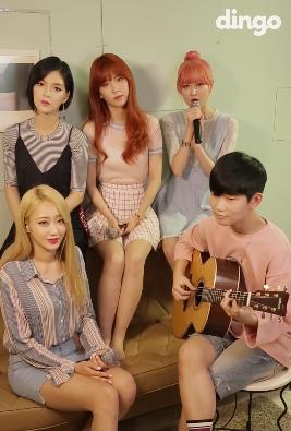 Nine Muses A realiza medley acústico de populares canciones de karaoke
